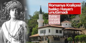Romanya Kraliçesi Maria'nın minareli köşkü