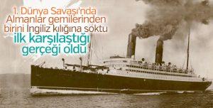 Alman'ın İngiliz'e oyunu: RMS Carmania