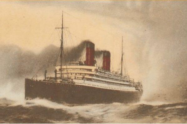 Alman ın İngiliz'e oyunu: RMS Carmania #1