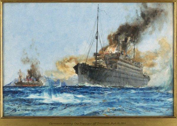 Alman ın İngiliz'e oyunu: RMS Carmania #3