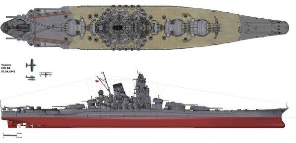 Bir Japon efsanesi: Yamato savaş gemisi #1