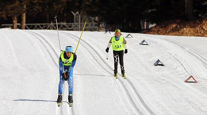 Kayaklı Koşu Türkiye Şampiyonası Bolu'da başladı