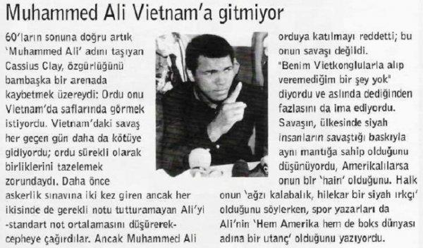 Muhammed Ali'nin Vietnam mücadelesi #2