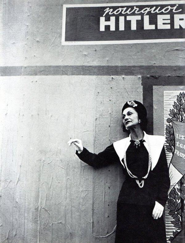 Ünlü modacı Coco Chanel bir Nazi ajanıydı #3